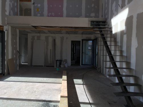 escalier m tallique bois sur mesure en cours m tallier. Black Bedroom Furniture Sets. Home Design Ideas