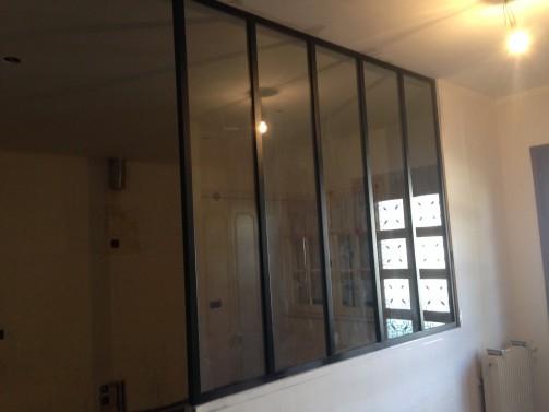 Verri re d int rieur style atelier artiste m tallier - Verrieres interieur style atelier ...
