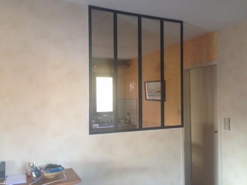 Verri re d 39 int rieur style atelier artiste m tallier - Verrieres interieur style atelier ...