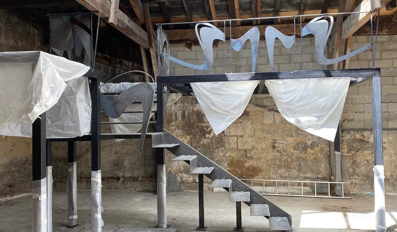 Mezzanine métallique