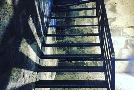 Escalier métal sur mesure