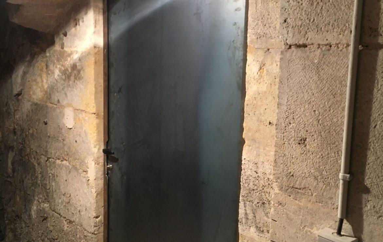 Porte de cave sur mesure