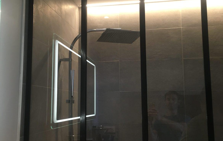 Verrière salle de bain sur mesure - Métallier Bordeaux