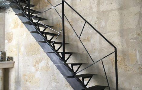 Escalier métallique sur mesure