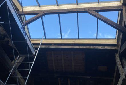 Verrière de toiture