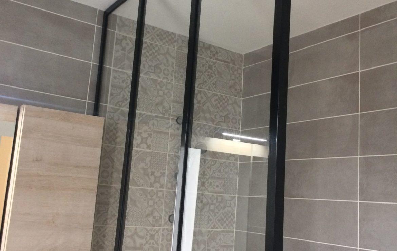 Verrière de douche sur mesure