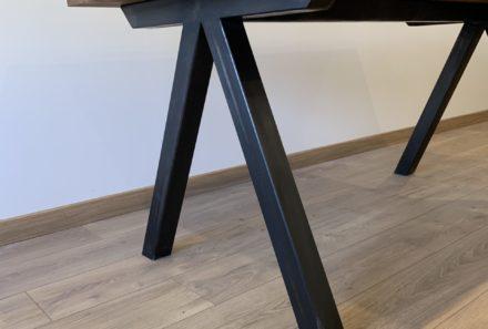 Table métal & bois sur mesure