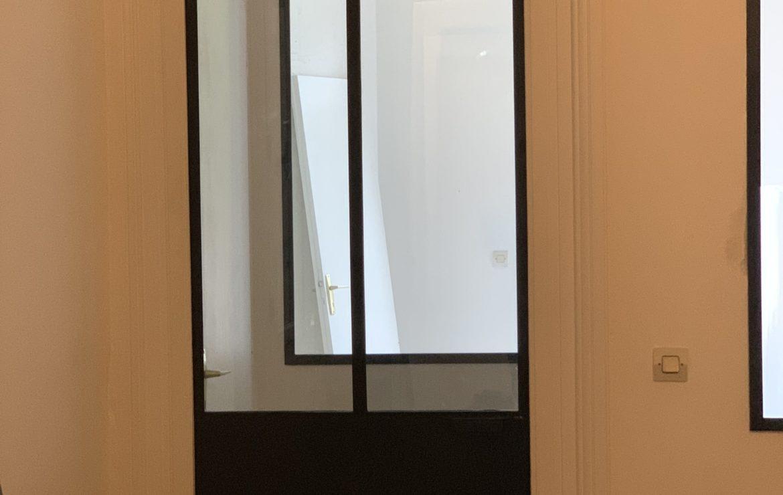 Porte verrière d'intérieur sur mesure