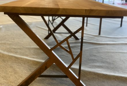 Mobilier sur mesure métal & bois