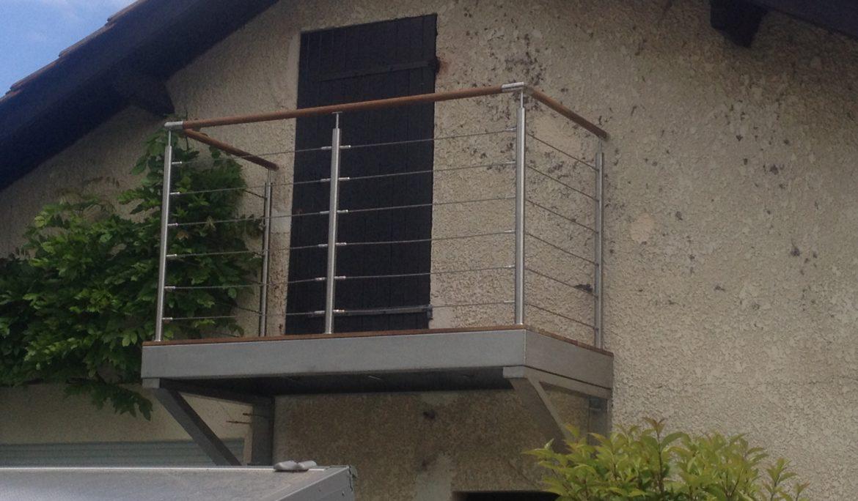 Balcon en Inox & IP